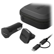 Автодержатель для смартфона IOTTIE iTap Magnetic Mounting and Charging Travel Kit (HLTRIO110)