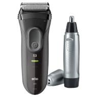 Електробритва BRAUN Series 3 3000 + EN10 (81640346)