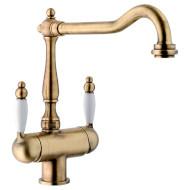 Смеситель для мойки FRANKE Byblos Clear Water Brass (115.0370.684)