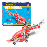 Конструктор SAME TOY Intelligent DIY Model самолёт 207дет. (WC38CUT)