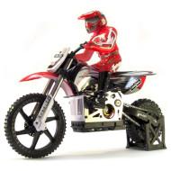 Радиоуправляемый мотоцикл HIMOTO 1:4 Burstout MX400 Brushed Red (MX400R)