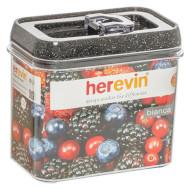Ёмкость для сыпучих продуктов HEREVIN Luxor Granite 1.2л (161178-550)