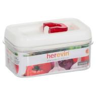 Ёмкость для сыпучих продуктов HEREVIN Luxor White 0.6л (161173-001)