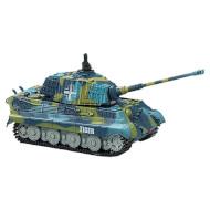 Радиоуправляемый танк GREAT WALL TOYS 1:72 King Tiger Blue (GWT2203-3)