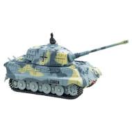 Радиоуправляемый танк GREAT WALL TOYS 1:72 King Tiger Grey (GWT2203-4)