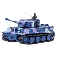 Радиоуправляемый танк GREAT WALL TOYS 1:72 Tiger Blue (GWT2117-3)