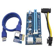 Райзер OEM PCE164P-N03 6-pin Blue