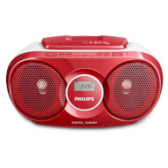 Магнитола PHILIPS Soundmachine Red (AZ215R/12)