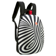 Рюкзак школьный ZIPIT Soft Shell Zebra (ZSHL-BWS)