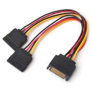 Кабель-разветвитель SATA Power 0.2м ATCOM (14366)