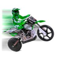 Радиоуправляемый мотоцикл HIMOTO 1:4 Burstout MX400 Brushed Green (MX400G)