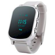 Часы-телефон детские GOGPS K20 Chrome