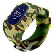 Часы-телефон детские GOGPS K50 Camouflage