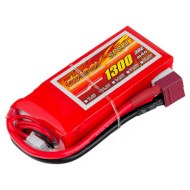 Аккумулятор DINOGY Sport 1300мАч 11.1В T-Plug (DLC-3S1300D-T)
