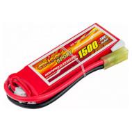 Аккумулятор DINOGY Sport Li-Pol 1500мАч 7.4В Mini Tamiya (DDS-2S1500DW30-MT)