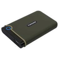 Портативный жёсткий диск TRANSCEND StoreJet 25M3 Slim 2TB USB3.1 Military Green (TS2TSJ25M3G)