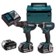 Набор электроинструментов MAKITA DLX 2127 TJ1 (DLX2127TJ1)