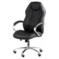Кресло руководителя SPECIAL4YOU Cross Black (E4787)