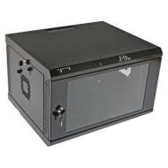 "Шкаф напольный 19"" CMS UA-MGSWA65B (6U, 600x500мм, RAL9005)"