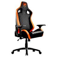 Кресло геймерское COUGAR Armor S Black/Orange (3MGC2NXB.0001)