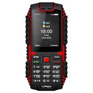 Мобильный телефон SIGMA MOBILE X-treme DT68 Black/Red