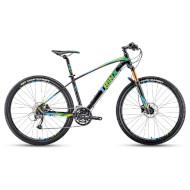 "Велосипед TRINX Big 7 B700 Matt Black/Green/Blue 27.5"""