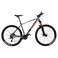 "Велосипед TRINX Big 7 B700 Matt Gray/Orange/Blue 27.5"""