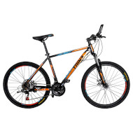 """Велосипед TRINX Striker K036 Black/Blue/Orange 26"""""""