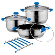 Набор посуды KRAUFF Royalblau 7пр (26-242-010)