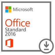 ПО MICROSOFT Office 2016 Standard Ukrainian 1PC OLP NL Academic ESD (021-10550)