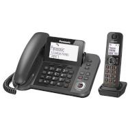 DECT телефон PANASONIC KX-TGF320 Black