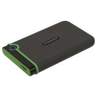 Портативный жёсткий диск TRANSCEND StoreJet 25M3 Slim 2TB USB3.1 Iron Gray (TS2TSJ25M3S)