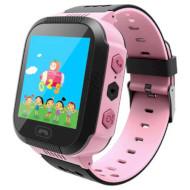 Часы-телефон детские GOGPS K12 Pink