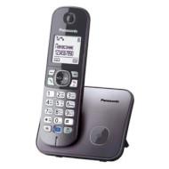 DECT телефон PANASONIC KX-TG6811 Metallic