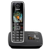 DECT телефон GIGASET C530A Black