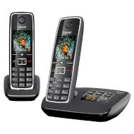 DECT телефон GIGASET C530A Duo Black