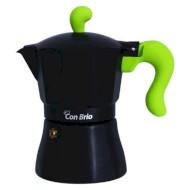 Кофеварка гейзерная CON BRIO CB-6609 (CB-6609 GR)