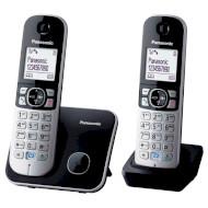DECT телефон PANASONIC KX-TG6812 Black