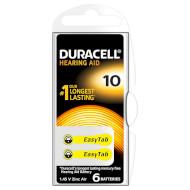 Батарейка для слухового аппарата DURACELL 10/PR70 6шт