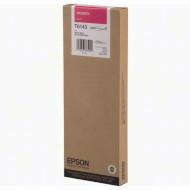 Картридж EPSON T6143 Magenta (C13T614300)