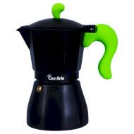 Кофеварка гейзерная CON BRIO CB-6606 Green