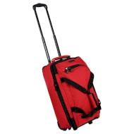 Дорожная сумка на колёсах MEMBERS Expandable Wheelbag S Red (TT-0029-RE)