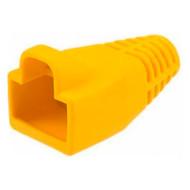 Колпачок коннектора VINGA для RJ-45 жёлтый 100 шт/уп. (BC-06)