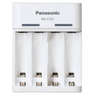 Зарядное устройство PANASONIC Eneloop Basic BQ-CC61 USB + Eneloop 2 x AA 1900 mAh (K-KJ61MCC40USB)
