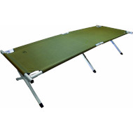 Кровать HIGHLANDER Aluminium Camp Bed Green (FUR041-GN)