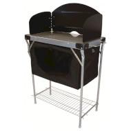 Кухня HIGHLANDER Steel Kitchen Stand With Сupboard (FUR080)