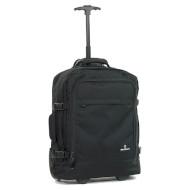 Дорожная сумка на колёсах MEMBERS Essential On-Board 33 Black (BP-0057-BL)