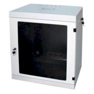 """Настінна шафа 19"""" CSV Wallmount Lite 9U-580 Acrylic (9U, 570x580мм, RAL7035)"""