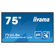 """Информационный дисплей LFD 74.5"""" IIYAMA ProLite TE7568MIS-B1AG"""