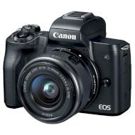 Фотоаппарат CANON EOS M50 Kit Black EF-M 15-45mm f/3.5-6.3 IS STM (2680C060)